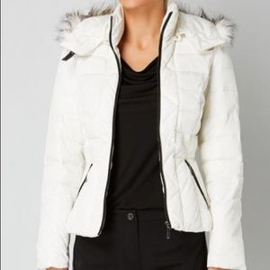 Gaudì Womens White Winter Jacket Sz.4